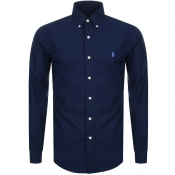 Ralph Lauren Long Sleeved Slim Fit Shirt Navy